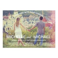 Wedding Invitation Photo Cards Photo Wedding Invitation
