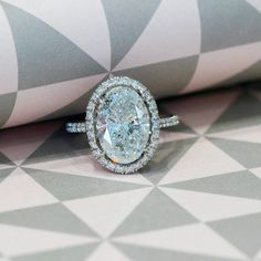 Brilliant Oval Cut Diamond Solitaire Engagement Ring White Gold Over. Timeless Engagement Ring, Designer Engagement Rings, Solitaire Engagement, Wedding Jewellery Designs, Wedding Jewelry, Wedding Ring, Diamond Gemstone, Gemstone Jewelry, Oval Diamond