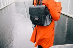 THE M.A. TIMES - Orange Of My Eye // Pixie Mood backpack