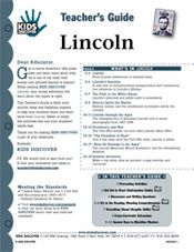 Lincoln: Free 12-Page Lesson Plan for KIDS DISCOVER Abraham Lincoln!