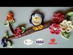 Coruja ,galho ,Folha e flor em crochê pra aplicação. (TAPETE ROXO PAIXÃO) - YouTube Crochet Diy, Crochet Motif, Crochet Patterns, Crochet Bookmark Pattern, Crochet Bookmarks, Crochet Videos, Crochet For Beginners, Crochet Earrings, Applique