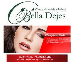 Bella Dejes Clínica de Saúde e Beleza: Venha realçar o seu olhar e se surpreender!!!