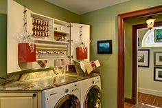 Not Your Mother's Laundry Room - traditional - laundry room - new york - by Bruen Design Build Inc