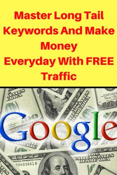 If you're new to SEO or even if you're a seasoned marketer you need to know that if you're not using long tail keywords you're leaving a lot of money on the table.  Why is that?  Well contrary to what many people think, going for high volume keywords is not where the money is. PIN THIS ARTICLE FOR LATER