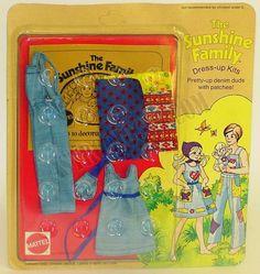 sunshine family mattel | Set Abiti Dress-Up #1
