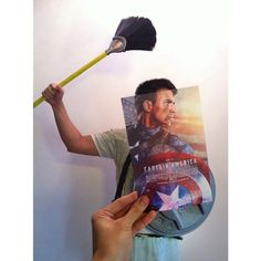 """Malaysian artist Jaemy Choong (a.k.a. """"jaemyc"""") has taken very creative photos of postcard-sized movie posters superimposed over real people. The result is that Choong's friend or friends end up lo..."""