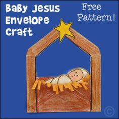 The Birth of Jesus Bible Craft for Christmas Sunday School Lesson