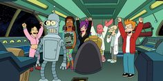 While there are many, many things that we hope are in Santa's metaphorical bag of goodies this holiday season, getting  Futurama  back on the air would be the best good news ever, everyone. And according to the show's stars, there's still a chance that the hilarity may continue one day.