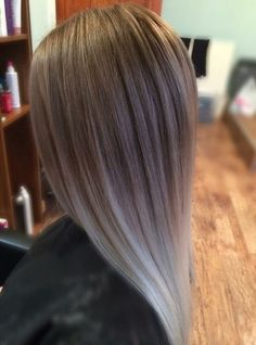 Smooth-Straight-Brown-To-Silver-Ombre-Hair.jpg (630×850)