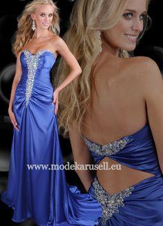 Luxus Abendkleid 2013 Blau  www.modekarusell.eu