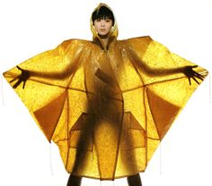Irving Penn Regards the Work of Issey Miyake