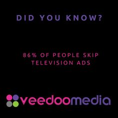 Did You Know? 🤔💬💡 . 86% of people skip television ads . 🥇🏆 Digital Marketing Agency Helping Small Businesses Grow Online, Innovate & Transform . 🎯 Digital Marketing 🧩 Consultancy 🛒 eCommerce 🖥 Web Design . 📈 Work With Us to Grow Your Business Online and Get Ahead of Your Competitors . 🔗 www.veedoomedia.com . Follow Us 👉 @veedoomedia 👈 to Get More Valuable Insights into Digital Marketing . . . . . #sem #digitalmarketing #onlinemarketing #internetmarketing #business #ecommerce… Internet Marketing, Online Marketing, Digital Marketing, Ecommerce Web Design, Growing Your Business, Small Businesses, Did You Know, Online Business, Ads