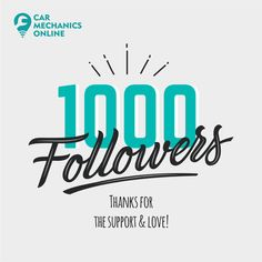 Thanks to each & everyone for your constant support & love❣️🙏🏻 Blessed to have you all as a part of CMO family. Keep supporting 😊 - Cheers, Team Car Mechanics Online Tata Motors, 1000 Followers, Car Repair Service, Mercedes Car, Car Wash, Mumbai, Cheers, Blessed, Thankful