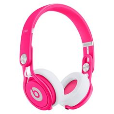 IF someone loved me, they'd buy me this for my birthday----Beats by Dr. Dre Mixr Headphones - Neon Pink