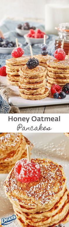 Hearty, healthy and tasty, these pancakes are a delicious way to start your day!