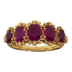 A late Georgain Ruby ring. I want more than I can possibly say...