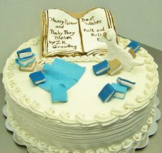 Baby boy shower by Kiss Me Cakes