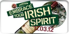 Embracing my Irish Spirit Jameson Drinks, Jameson Irish Whiskey, Irish Catholic, Irish Eyes Are Smiling, Just A Reminder, St Pats, Luck Of The Irish, Guilty Pleasure, Imagination