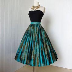 Fabulous 50's vintage skirt: