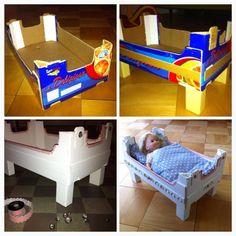 Puppenbett DIY …