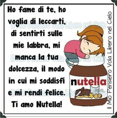 Inimitabile....nutella
