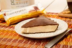 Calling all sweet tooths. Eat your heart out with this Chocolate Peanut Butter Protein Pie! We've got Power Crunch protein products packed into every inch of this delectable pie, but you wouldn't know the difference after diving in! Who says desert can't be nutritious? With a crust made of the fan-favorite Power Crunch Original Bars..