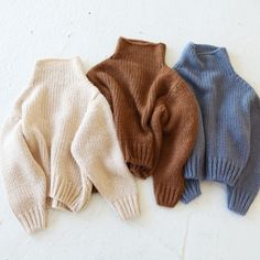 Lowgauge Highneck Knit(ホワイト)