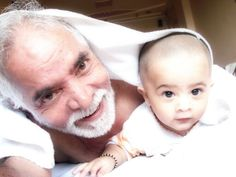 My father wih my son.....
