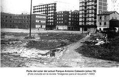 Solar actual Parque Antonio Cabezón.Años 70.Miranda de Ebro.