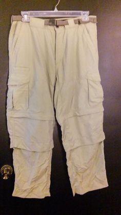 Hiking pants, men's size 36 x 32 zip off legs #ExOfficio #ZipOff http://www.ebay.com/itm/252715987518?ssPageName=STRK:MESELX:IT&_trksid=p3984.m1555.l2649