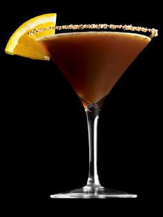Dark Chocolate Martini #FNThanksgiving
