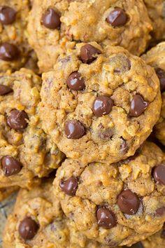 Cookies com gotas de Chocolate - sem gluten
