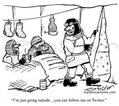 Social Media Humor | Ten Cartoons About #Twitter  Created by Royston Cartoons #twitter_humor