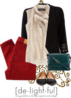 """""""Simple Holiday outfit"""" by paige42591 ❤ liked on Polyvore"""