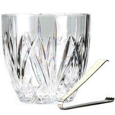 Marquis by Waterford Brookside Ice Bucket w/Tongs ** Continue to the product at the image link. (Amazon affiliate link)