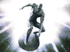 The Herald Silver Surfer by Agustin Alessio