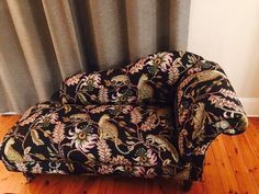 Ardmore Zambezi Fabric in Monkey Bean Night