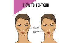 How To Tontour Fake Tan Contour Your Face   Beauty Tips   Grazia Daily