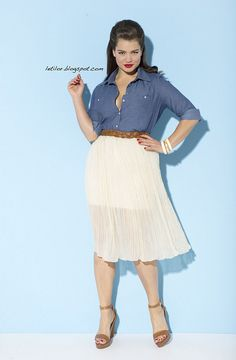 Plus size model Tara Lynn. (I don t understand how she is considered · Jupe  Grande Taille · Jupe Hiver ... 80624a497f42
