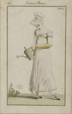 Costume Parisienne - 1813