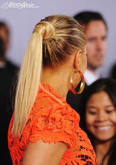 The latest ponytail hairstyles trends in 2014 and 2015 are all here. See the pictures of celebrities with ponytail hairstyles and much more information. Twist Hairstyles, Ponytail Hairstyles, Wedding Hairstyles, Hairstyle Photos, Makeup Tips, Beauty Makeup, Hair Beauty, Cute Ponytails, Hair Photo