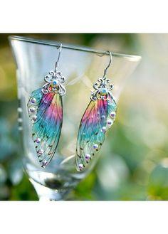 Wedding Accessories, Fashion Accessories, Fashion Jewelry, Jewelry Accessories, Butterfly Frame, Butterfly Wings, Wing Earrings, Drop Earrings, Surgical Steel Earrings