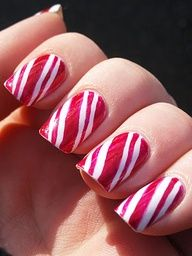 Lots of pages of Nail designs and how to do them!