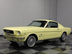 Mustang 2+2 coupe, 289 2v/4speed/2.80 axle