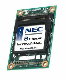 NEC America IntraMail 4 port x 8 hour syst NEC AMERICA 80045 INTRAMAIL 4 PORT X 8 HOUR SYST.  #NEC #CE