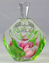 Kosta Paperweight Perfume Bottle by Jan-Erik Ritzman