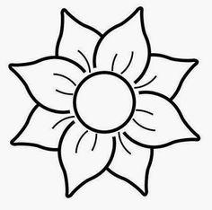 Risultati immagini per dibujos para pintar macetas Glass Painting Patterns, Glass Painting Designs, Stained Glass Patterns, Mini Drawings, Art Drawings Sketches, Easy Drawings, Stencil Designs, Paint Designs, Flower Template