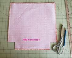 How to Make a Simple Tote Bag - JMB Handmade Diy Bags Patterns, Patchwork Patterns, Patchwork Bags, Quilted Bag, Handbag Patterns, Dress Patterns, Easy Tote Bag Pattern Free, Free Pattern, Diy Tote Bag