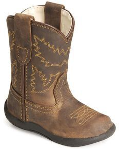 Old West Toddlers Crazy Horse Boots, me and baby could have matching boots Cowboy Baby, Toddler Cowboy Boots, Kids Western Boots, Kids Boots, Cowgirl Boots, Rodeo Boots, Cowgirl Outfits, Baby Boy Shoes, Baby Boots