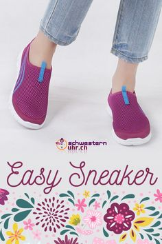 Frühlingsgefühle 🤩🌷Easy Sneaker. Die Sneaker für Pflegepersonal sind super bequem und ganz leicht. So kommst du problemlos durch den ganzen Tag. Gönne deinen Füssen etwas - Gehen wie auf Wolken. Nie wieder müde Füsse!  Jetzt bei schwesternuhr.ch bestellen - Ohne Versandkosten. Schweizer Unternehmen.   #schwesternuhrch #schwesternschuhe  #sneaker #easysneaker #pflege Memory Foam, Super, Crocs, Easy, Sandals, Sneakers, Lilac, Comfortable Work Shoes, Comfortable Shoes